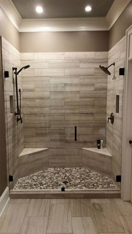 In Line Shower Enclosure
