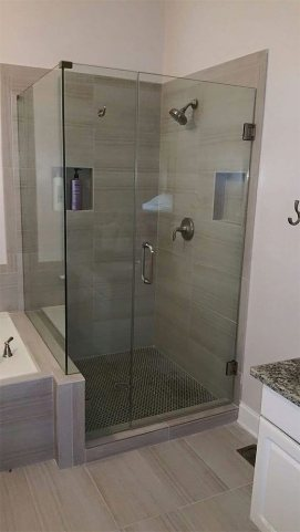 Right Angle Shower