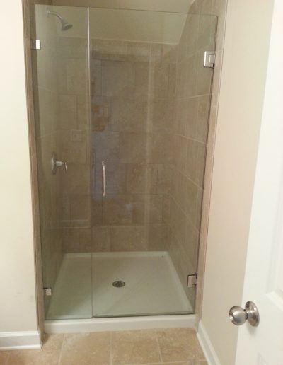 Inline Frameless shower Enclosures - Project 07