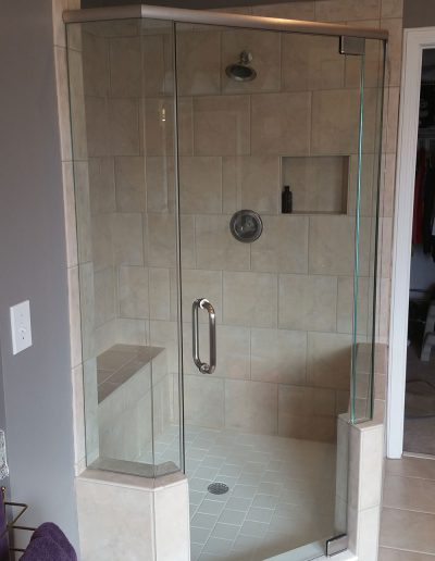 Neo Angle Shower Enclosure - Project 03