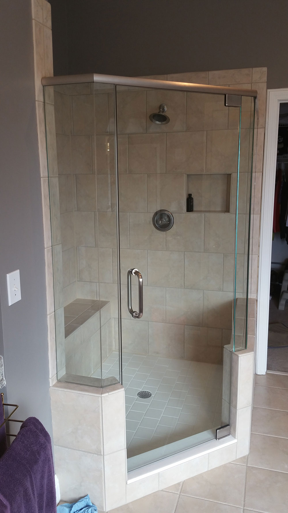 Neo Angle Showers - Frameless Shower Doors