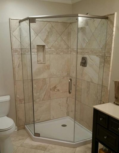 Neo Angle Shower Enclosure - Project 04