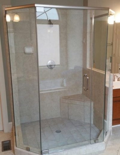 Neo Angle Shower Enclosure - Project 05