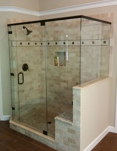 Neo Angle Shower Enclosure - Project 08