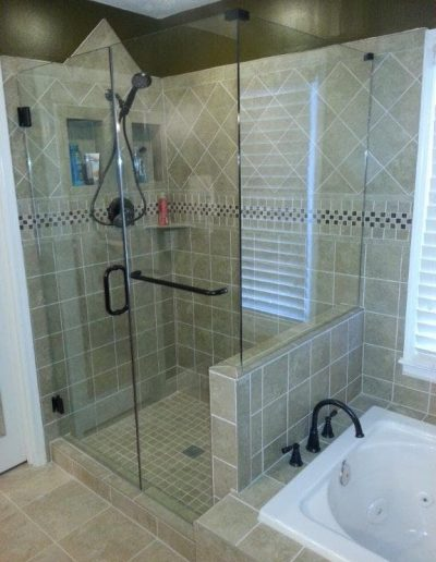 Right Angle Shower Enclosures - Project 8